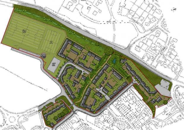 Work on 135 home development in Witham could start by Easter