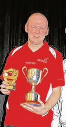 Paul Davison claimed a fifth Braintree Table Tennis League men's singles title.