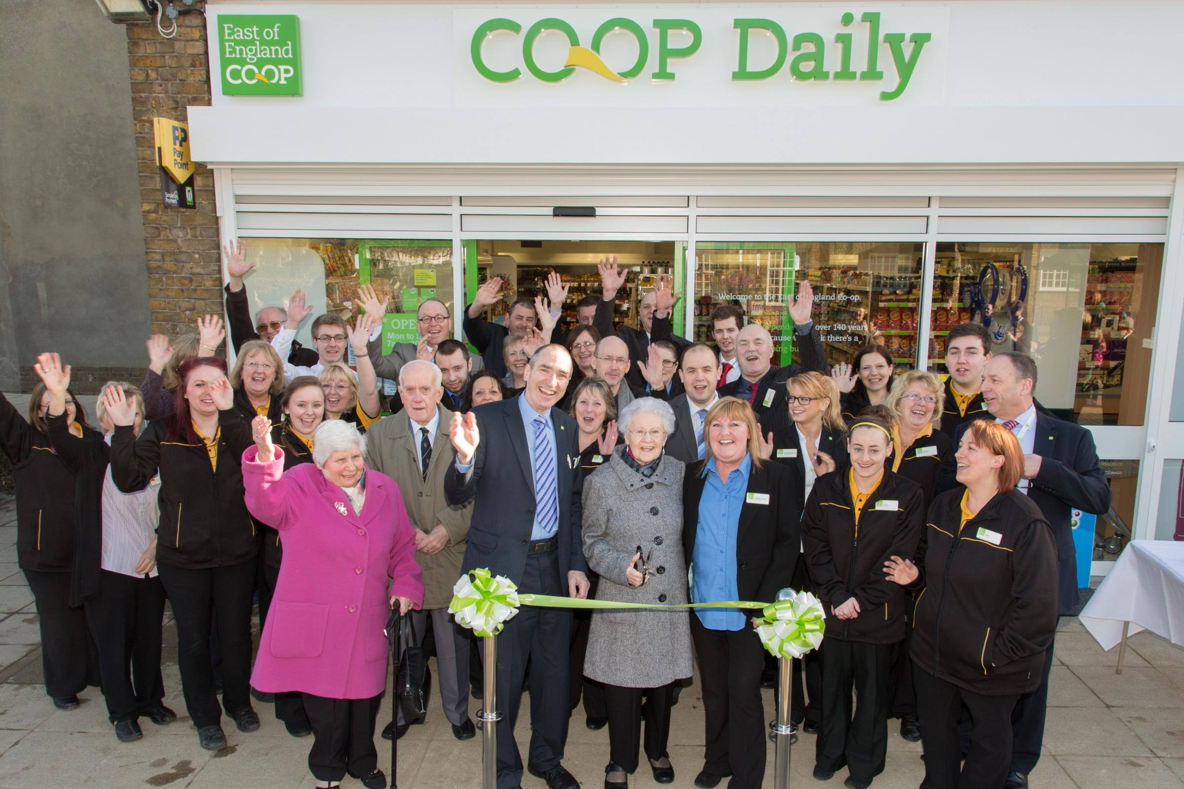 Former Co-op worker reopens store after £500k refurb