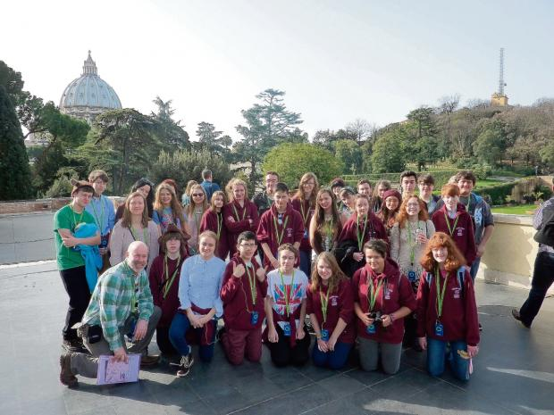 Maltings pupils enjoy a lesson in Rome