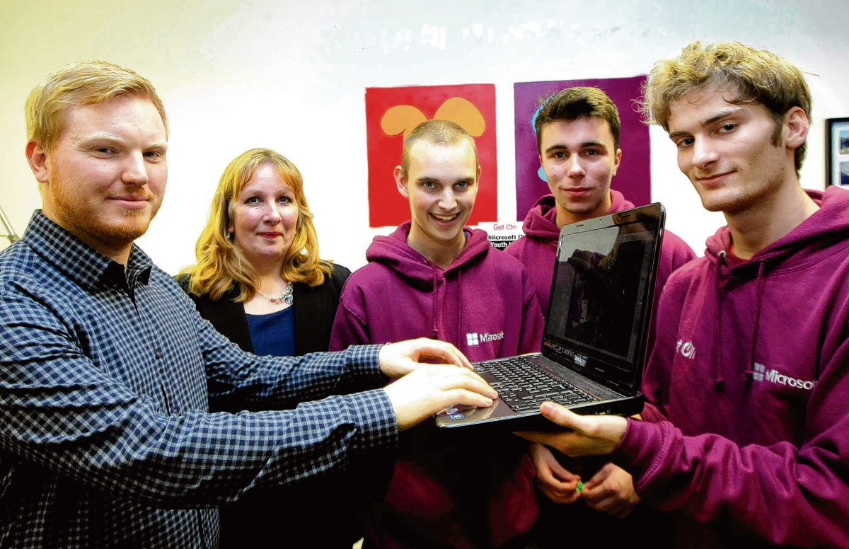 Empty shop unit becomes youth technology hub