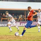 Braintree and Witham Times: Kenny Davis says Braintree's recent results have helped lift them ahead of their gruelling run of Skrill Premier games. Picture: NEIL DADY