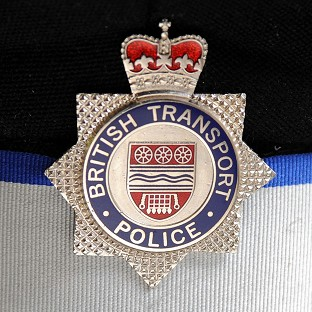 British Transport Police have arrested a ma
