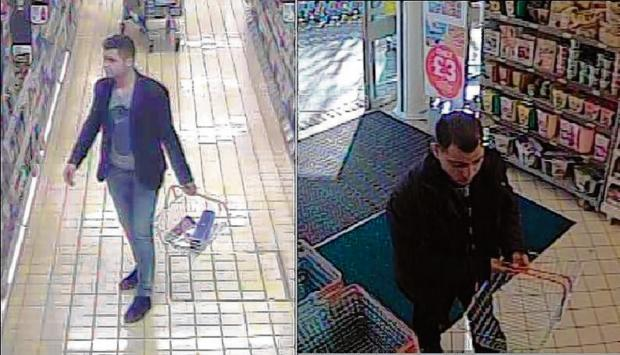 Police release pictures of alcohol theft suspects