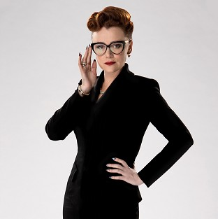 Keeley Hawes who is to play Ms Delphox in the new series of Doctor Who.