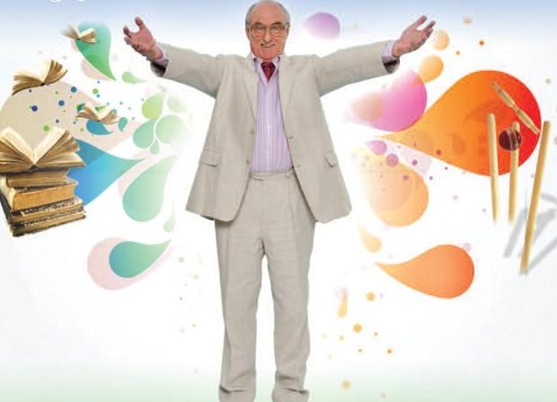 Henry Blofeld will bring his show TMS and All That to Witham on Thursday