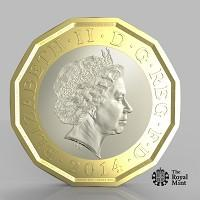 Braintree and Witham Times: The new one pound coin announced by the Government will be the most secure coin in circulation in the world (HM Treasury/PA)
