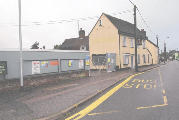 Braintree and Witham Times: No start date for Tesco Express building work