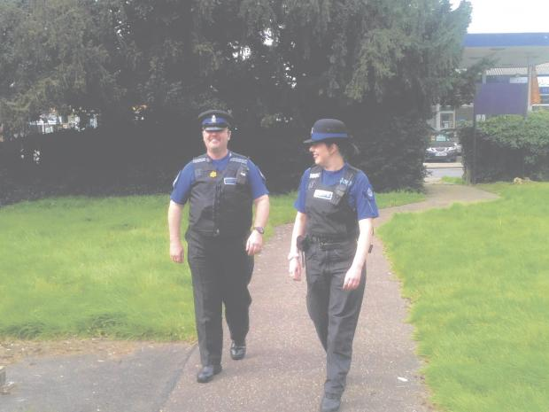 Police carry out patrols to target truancy in the district