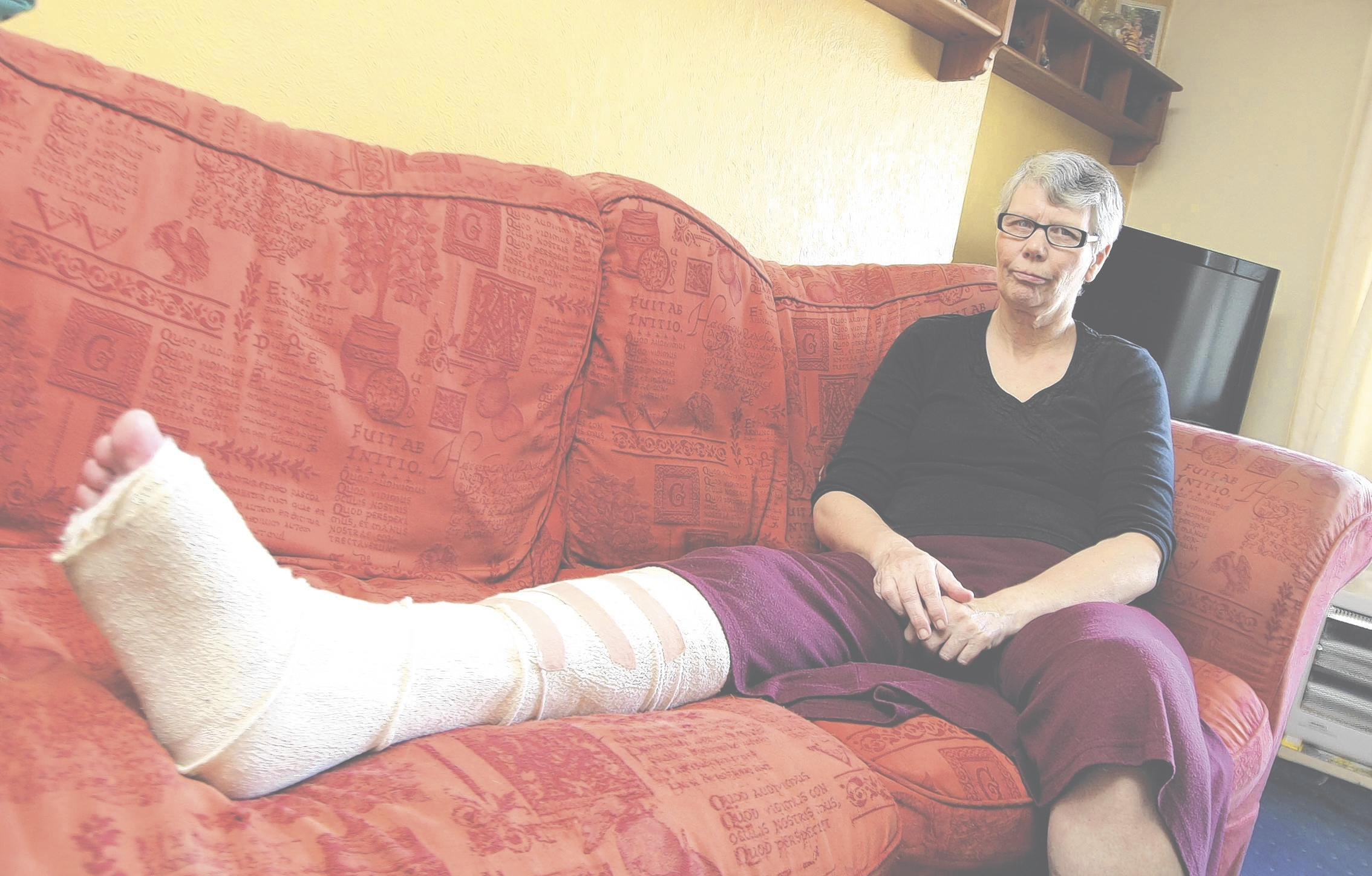Woman's anger after agonising wait for an ambulance