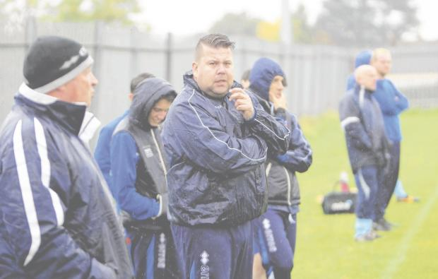 Braintree and Witham Times: Braintree Town Reserves manager Mark Sansom. Picture: STEVE ARGENT