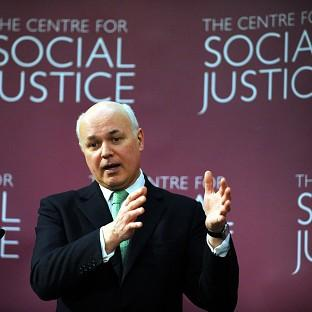 Iain Duncan Smith launched the Centre for Social Justice