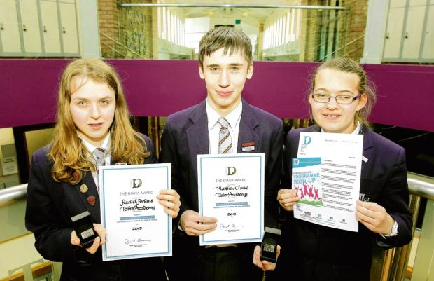 Pupils at Tabor Academy win Diana Awars