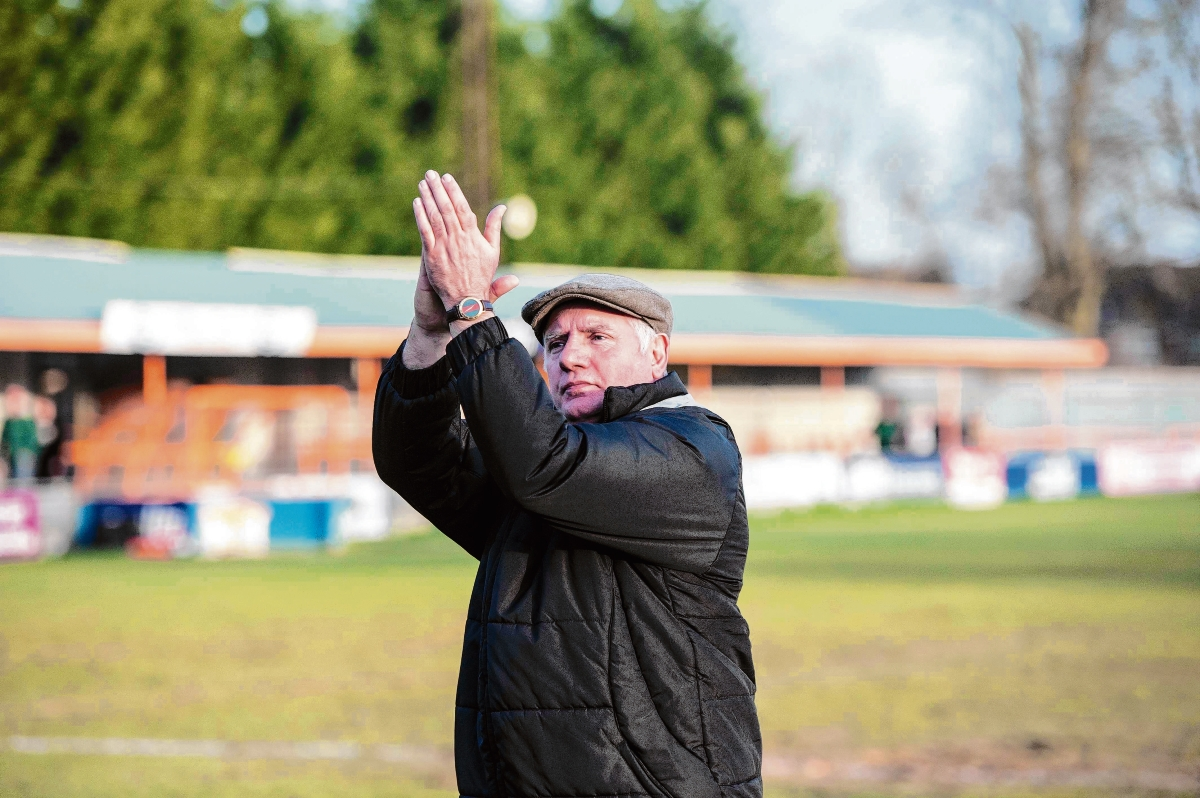 Alan Devonshire departs as Braintree Town manager