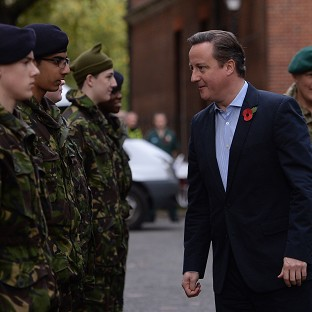 MPs have warned David Cameron against any further cutbacks to Britain's armed forces