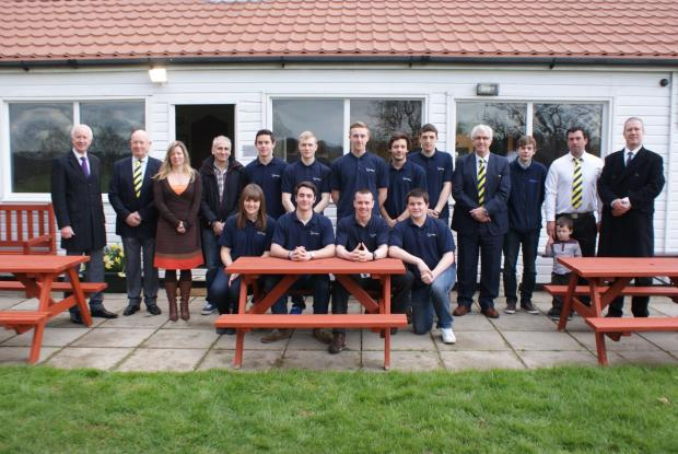 Braintree and Witham Times: Apprentices help revamp cricket pavilion