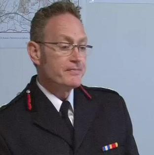 Derbyshire Chief Fire Officer Sean Frayne has been suspended since he was