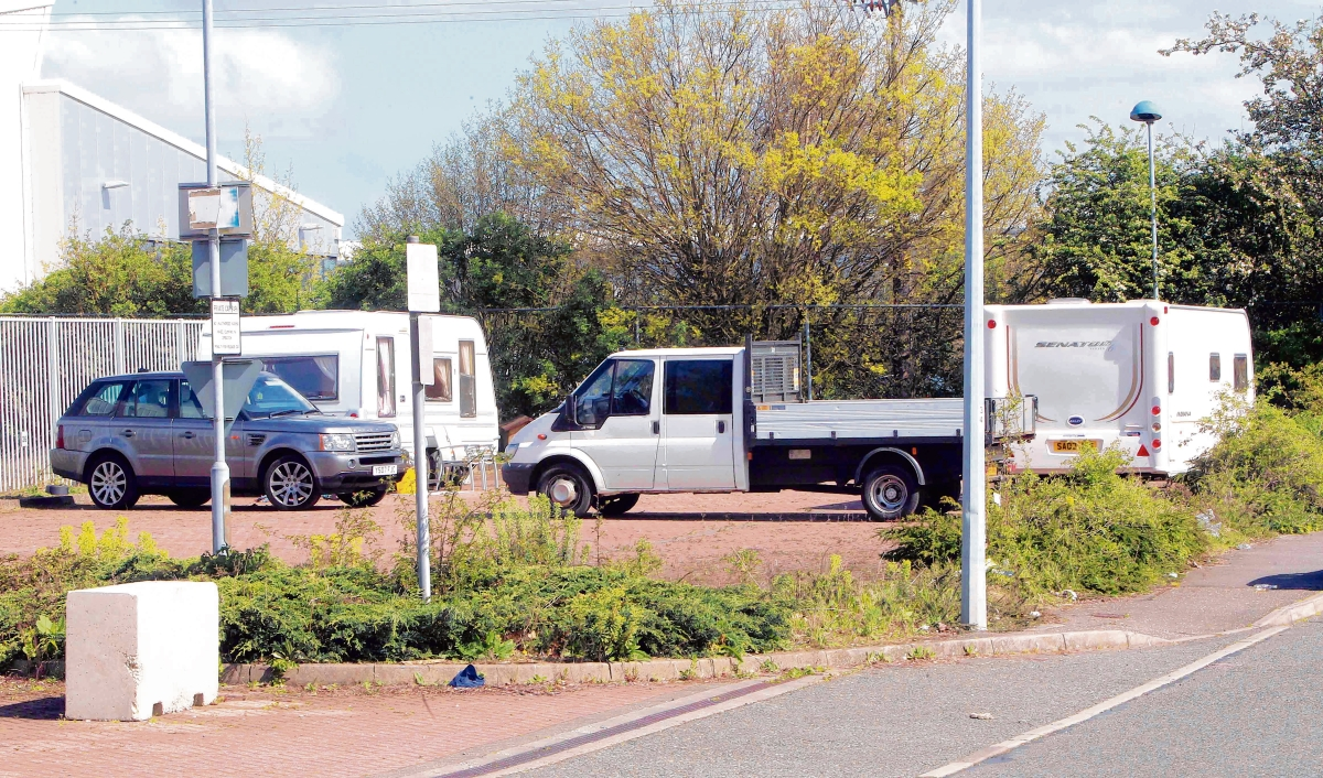 Police accused of siding with travellers instead of vulnerable businesses