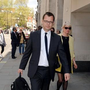 Braintree and Witham Times: Former News of the World editor Andy Coulson outside the Old Bailey