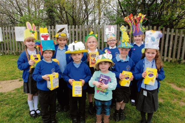 Youngsters get in the swing for Easter