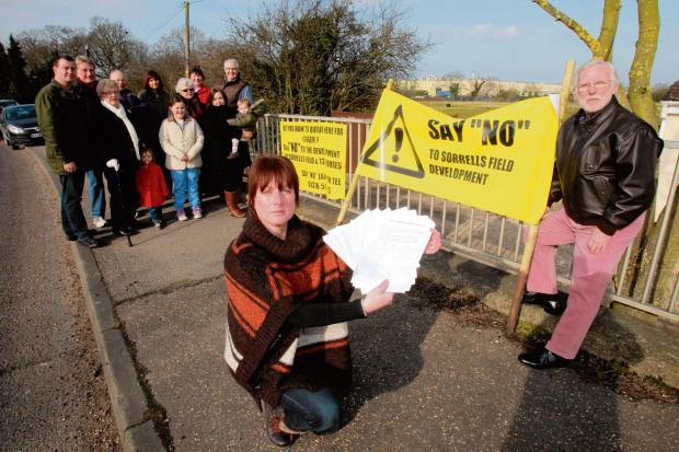 Hatfield Peverel residents oppose further development in the village