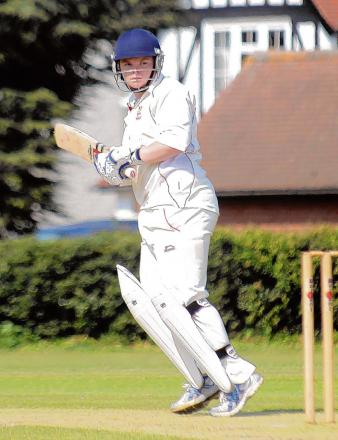 Rob Jones scored a century in Braintree's first game of the season.