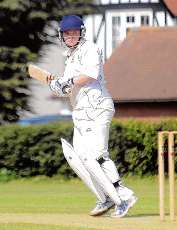 Braintree and Witham Times: Rob Jones scored a century in Braintree's first game of the season.