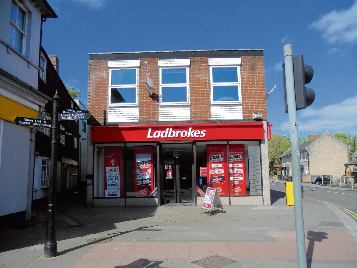 Lang has been charged with attempted robbery at Ladbrokes in Witham