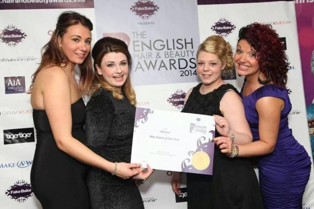 Witham hairdressers named best in the region