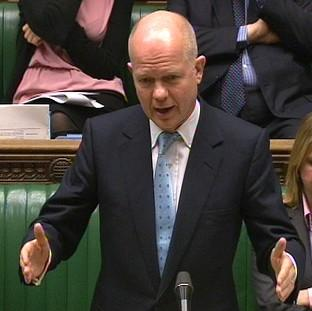 Foreign Secretary William Hague said sanctions are having an impact on Russia
