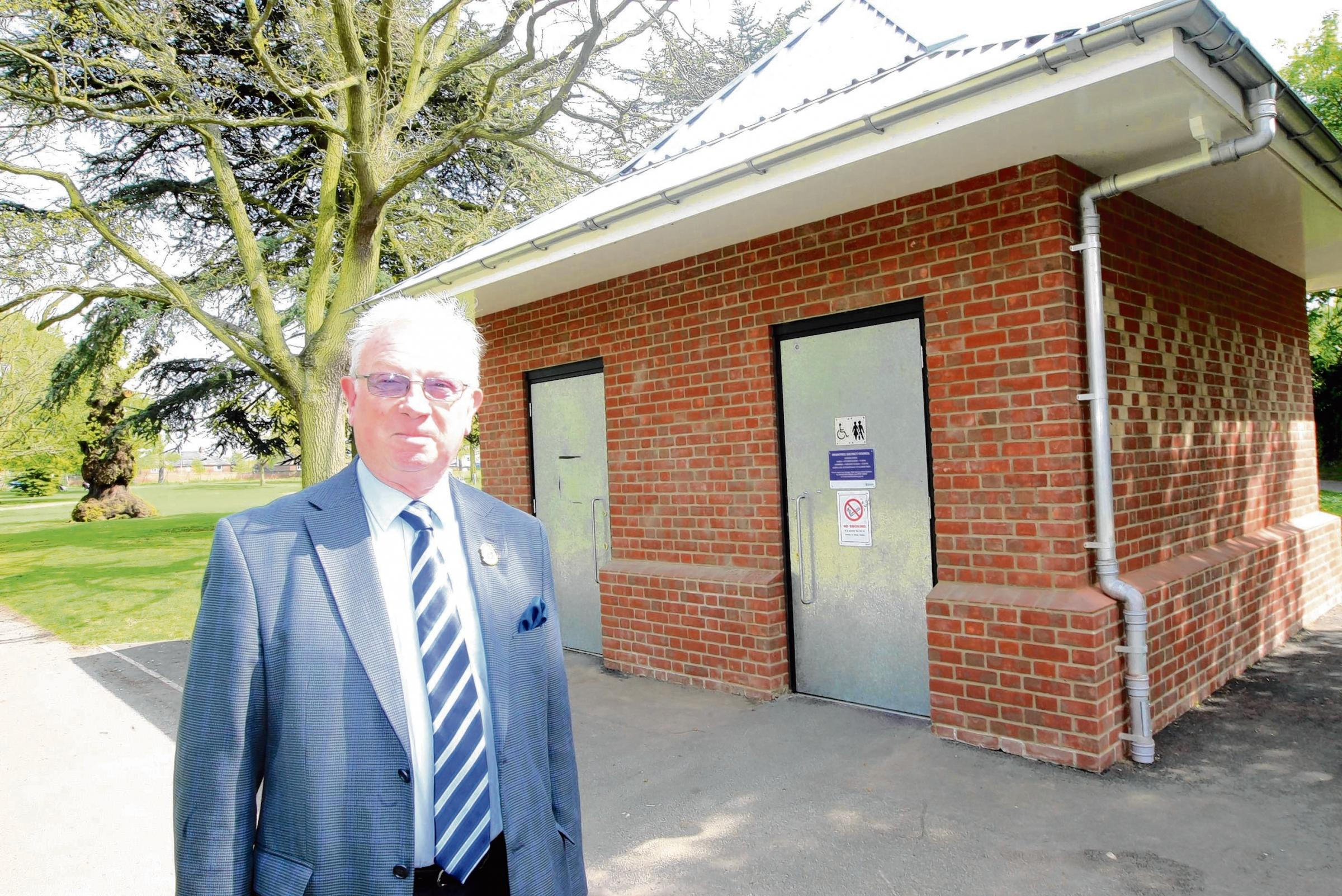 Vandals 'hell-bent' on wrecking public toilets says angry councillor