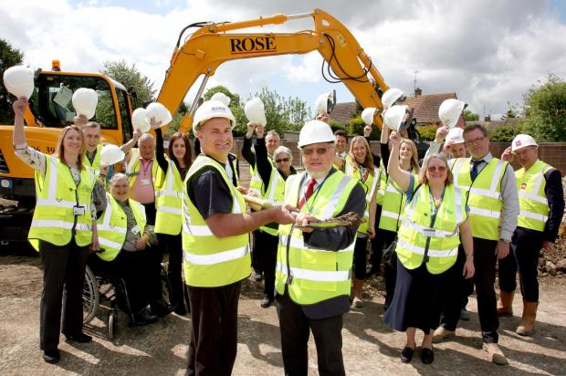 Work has begun on new homes for Great Bardfield