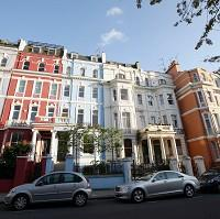 Braintree and Witham Times: Houses in Notting Hill, London, which has prospered despite the downturn