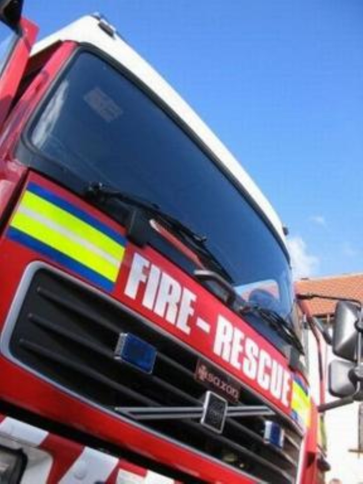 Three fire crews attend man stuck in mud this morning