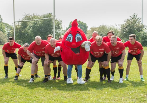 Braintree Rugby Club players are pledging to give blood in memory of Matthew Wadforth