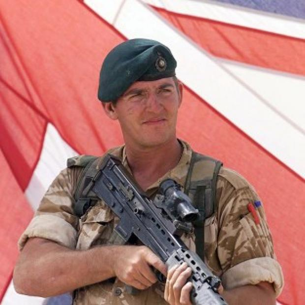 "Braintree and Witham Times: Sergeant Alexander Blackman was sentenced to life and ""dismissed with disgrace"" from the Royal Marines"