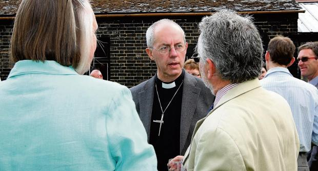 Farmers flock to share their views as Archbishop visits Rayne