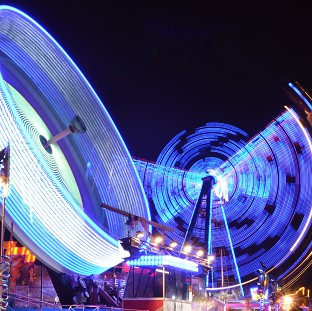 A fair owner has been ordered to pay �11,000 after two teenagers were injured when a ride collapsed