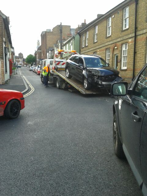 Crash on Fairfield Road