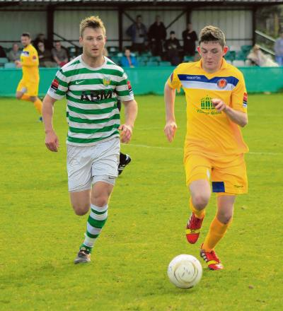 Tom Wraight in action for Witham last season. Picture: JIM PURTILL