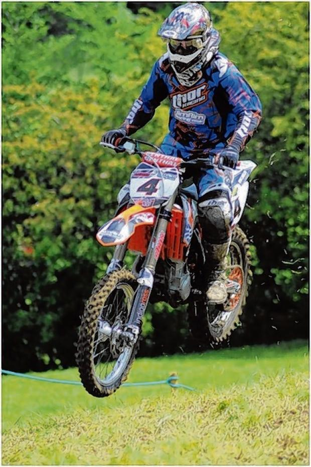 Braintree and Witham Times: Jason Morland on his way to Jack Hubbard Trophy success. Picture: Paula Day Photography - www.pauladayphotography.co.uk