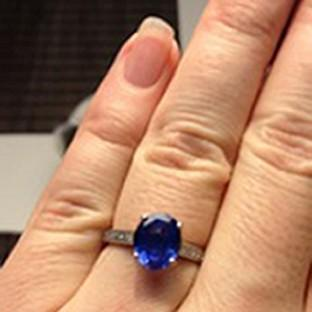 Braintree and Witham Times: The hand-made engagement ring which was stolen from the church
