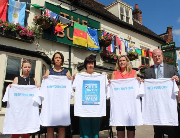 Pubs in Braintree district support campaign against World Cup related domestic violence