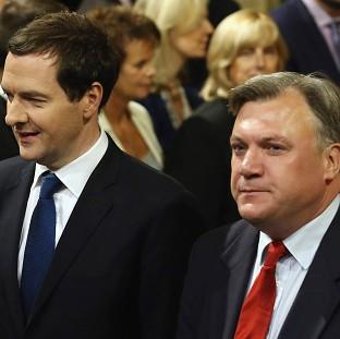 Ed Balls (right) has vowed an alternative to Ge