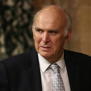 Braintree and Witham Times: Business Secretary Vince Cable was forced to deny he was part of a plot to oust Nick Clegg