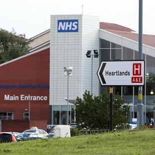Heartlands Hospital has been treating eight patients, who are all in a stable condition