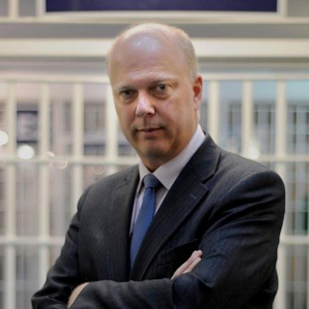 Braintree and Witham Times: Justice Secretary Chris Grayling has defended moves to cope with an increase in prisoner numbers