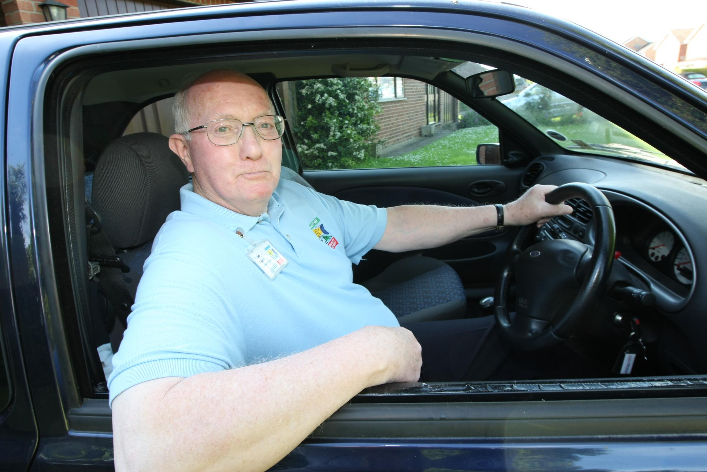 Could you be a volunteer driver like Brian?