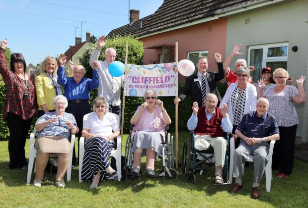 Neighbours celebrate 60 years in the same street