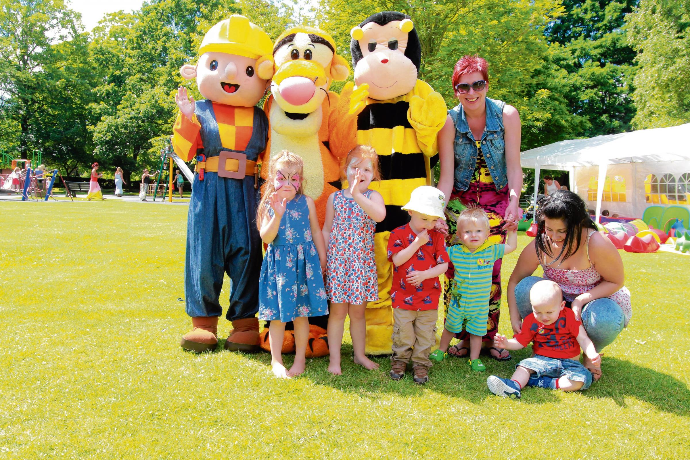 Public gardens children's festival is a hit for children and parents